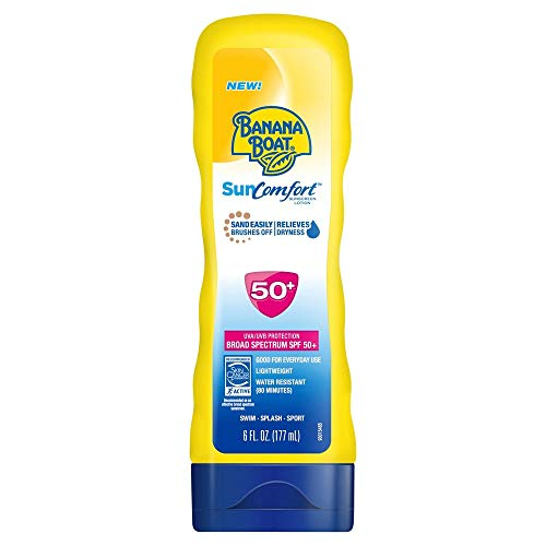 (Banana Boat Spf#50+ Sun Comfort Lotion 6 Ounce (177ml) (2 Pack))