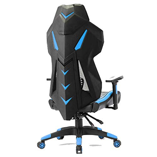 Gaming Chair Office Silla ajustable con respaldo alto Gaming Computer Ergonomic Swivel Competitive Blue Game