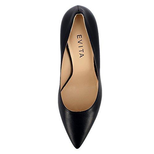 Evita Shoes Aria - Zapatos de vestir de Piel para mujer azul oscuro