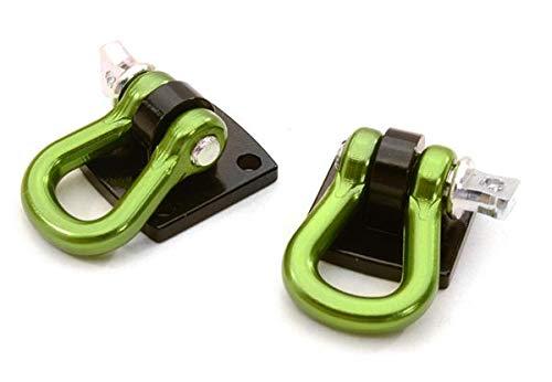 (Integy RC Model Hop-ups C26929GREEN Realistic 1/10 Bow Shackle for Off-Road Trail Rock Crawling)