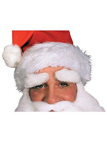 Rubie's Men's Santa Eyebrows, White, One Size