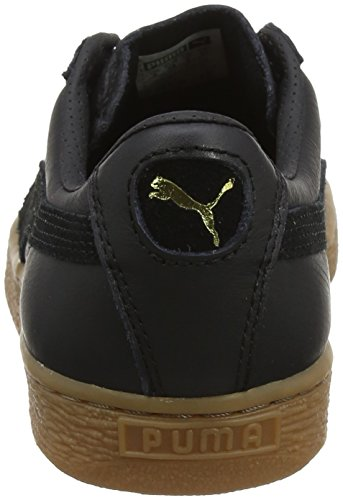 Basses Sneakers Deluxe Classic Adulte Puma Black Basket Gum Noir Mixte puma w41qqH