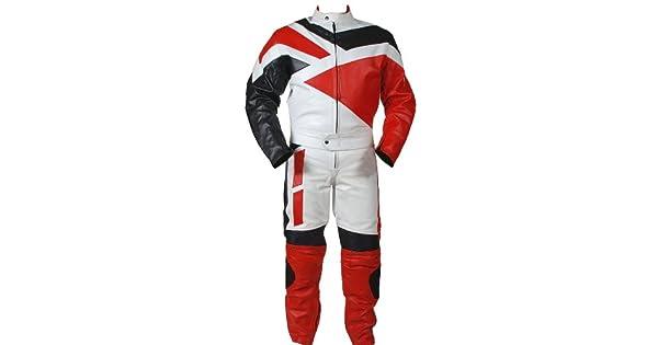 Amazon.com: Perrini - Traje de carreras para motocicleta, 2 ...