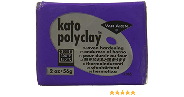 Van Aken International VA12211 Kato Polyclay 2oz Black