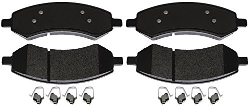 ACDelco 17D1084MHSV Specialty Performance (Fleet) Semi Metallic Front Disc Brake Pad -