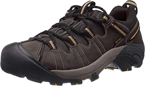 KEEN Men's Targhee II Outdoor Shoe, Raven/Tawny Olive, 10.5 M US