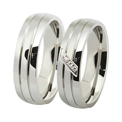 Trinity Knot Shank ([1PCS Price] KnSam Men Stainless Steel Wedding Bands High Polish Comfort Fit Silver Size 12)