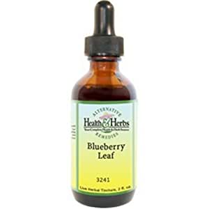 Alternative Health & Herbs Remedies Blueberry Leaf  2 Ounces (Pack of 2)