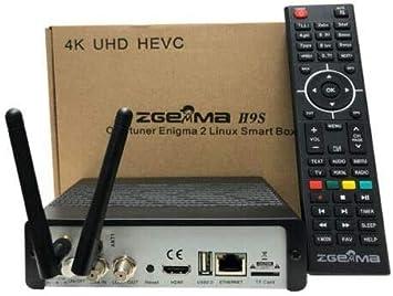 Zanza Zgemma H9S Wifi Enigma 2 IPTV Ultra HD 4K FTA UHD Acechador ...