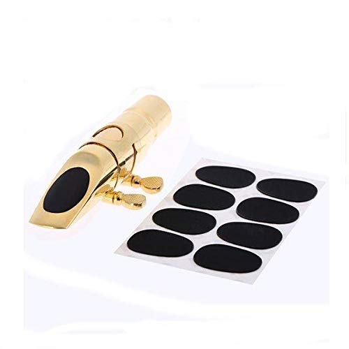 - 8pcs 0.8mm Soprano Saxophone Clarinet Mouthpiece Patches Pads Cushions - Musical Instruments Wind Instrument Parts - 8 x Soprano Saxophone/Clarinet Mouthpiece Patches Pads Cushions