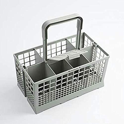 Lishiny Universal Dishwasher Cutlery Basket Portable for Silverware Tableware Fork Spoon