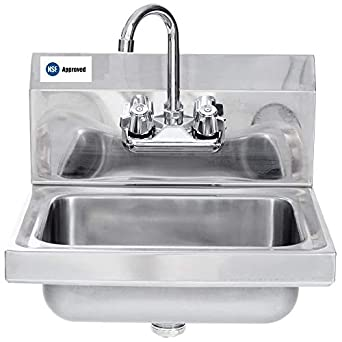 Exceptionnel Amazon.com: Commercial Stainless Steel Wall Mount Hand Sink   NSF:  Industrial U0026 Scientific
