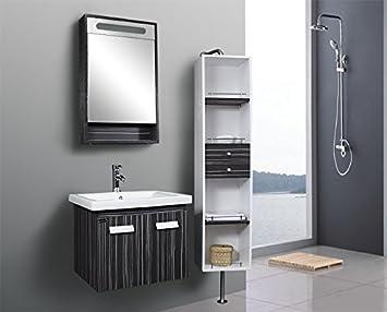 Modern baño baño muebles mueble de baño para lavabo Espejo Incluye grifo + Push Up (926 - 17): Amazon.es: Hogar