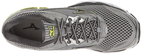 Mizuno Mens Wave Creation 18 Scarpe Da Corsa Dark Ardesia / Nero