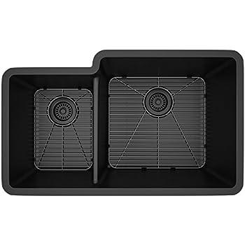Amazon Com Lexicon Platinum Quartz Composite Kitchen Sink