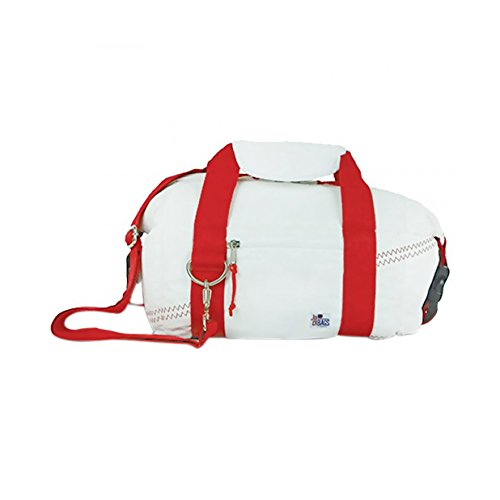 Sailorsbag Outdoor Travel Insulated Sailcloth 8-pack soft Cooler Bag Red - Excursion Beach Cooler