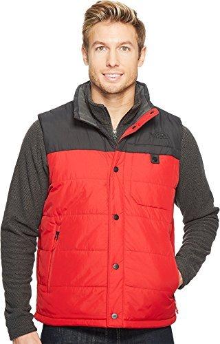 The North Face Men's Harway Vest - TNF Red & Asphalt Grey - XL
