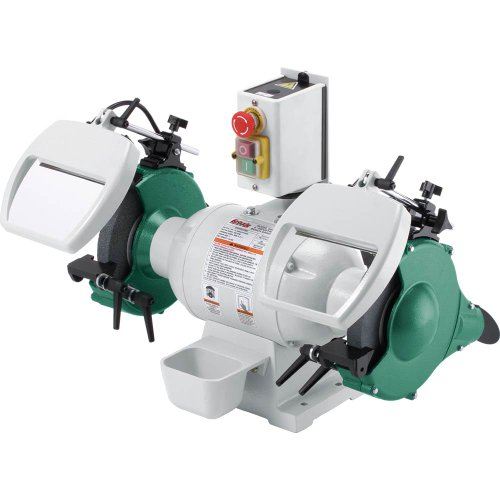Grizzly G0596 8-Inch 1 HP Heavy-Duty Bench Grinder