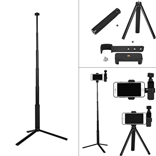 - Ship from USA - Sttech1 Portable Mobile Phone Bracket + Tripod + Extension Rod for DJI OSMO Pocket Set