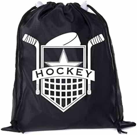 e99e97b3df Mato & Hash Mini Hockey Drawstring Bags | Mini Gift Bags for Parties, Teams,
