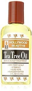 Hollywood Beauty Tea Tree Oil for Skin and Scalp Treatment, 2 Ounce