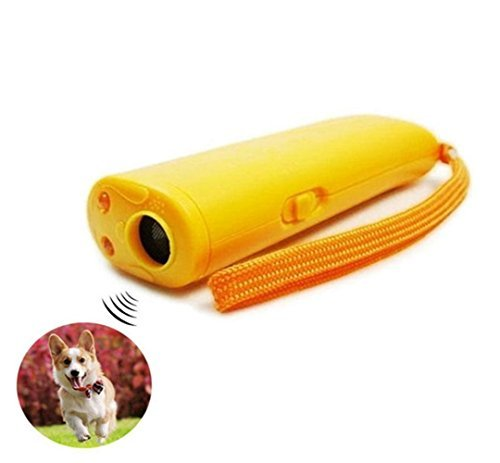 Pet Training Device with LED 3 in 1 Anti Barking Stop-Barking Ultrasonic Dog Repeller