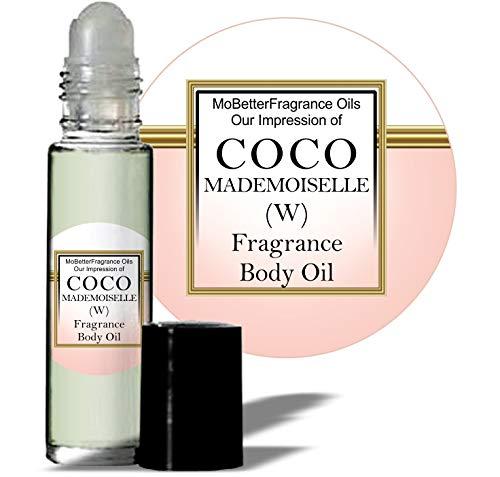 Mobetter Fragrance Oils' Our Impression of C O C O Mademoiselle (W) Women Fragrance Perfume Body Oil