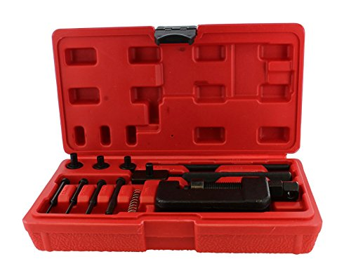 ABN Chain Breaker 13-Piece Set with Carrying Case  Chain Cutter and Riveter for Motorcycle, Bike, ATV