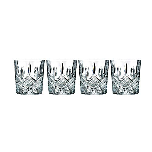 Marquis by Waterford 165118 Markham Double Old Fashioned Glasses, Set of 4 (Best Value Whiskey Scotch)