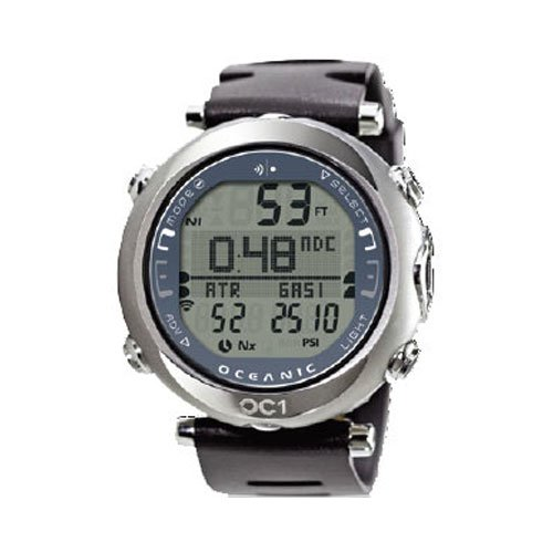 Oceanic OC1 OC1 by Complete Wireless Dive B0074CVQUK Watch w/ Titanium Band - Blue-With Free Online Training Class - Does NOT include Buddy Check Feature by Oceanic B0074CVQUK, ナントウチョウ:4ff23a9f --- m2cweb.com