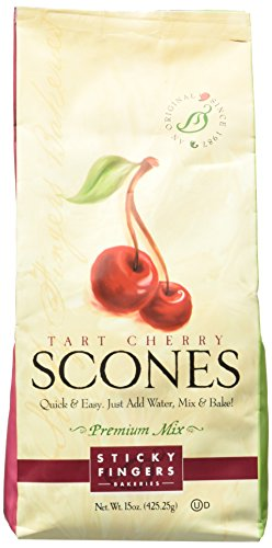 Sticky Fingers Mix Tart Cherry English Scone MIX 1lb. ( 454g) - Cherry Scone