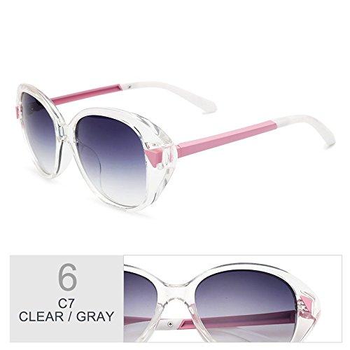 Plata Don TIANLIANG04 De Vintage Al Gray Gafas Por Clear Negro Uv400 El De Ojo Mujeres Señor Gato 6wgF6qC