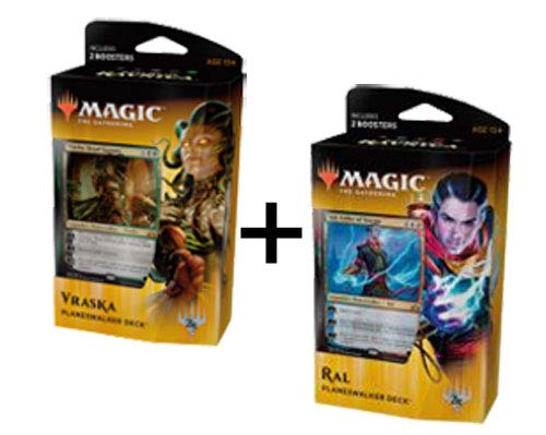MTG Guilds of Ravnica Planeswalker Decks Magic The Gathering: Set of 2