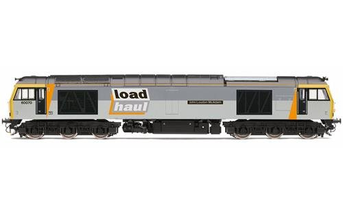 Hornby R3657 Loadhaul Class 60 No.60070'John Loundon McAdam' Loco-Diesel, Multi ()