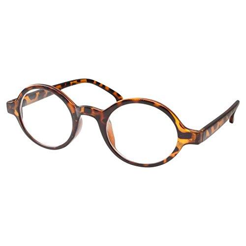 Kids Nerd Oval Professor Children's Costume Glasses, Clear Lens (Age 4-12) Tortoise (Edna Costume)