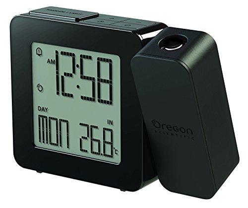 Oregon Scientific RM338P PROJI Projektionsuhr mit Innentemperatur - Schwarz