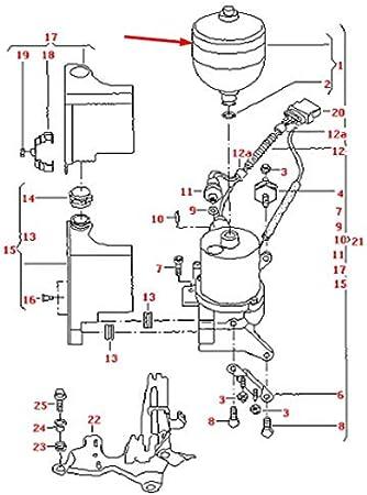 GTV INVESTMENT A2 Unit/é de commande hydraulique 8Z 6N0142433 1.4 TDI