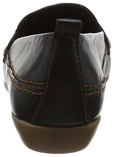 Extra Black Wide Black Loafers Black Evans Women's 7gqvv