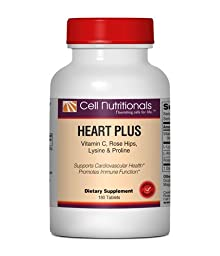 Heart Plus: Vitamin C, L-Lysine & L-Proline; 180 Tablets