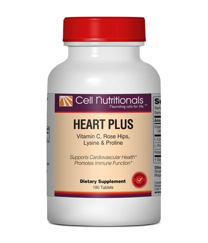 Heart Plus: Vitamin C, L Lysine & L Proline; 180 Tablets