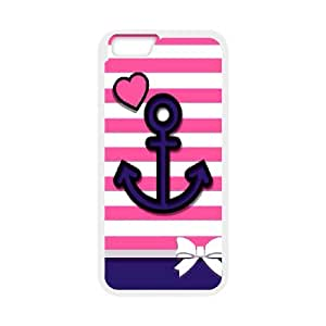 """[H-DIY CASE] For Apple Iphone 6,4.7"""" screen -Retro Vintage Anchor Pattern-CASE-16"""
