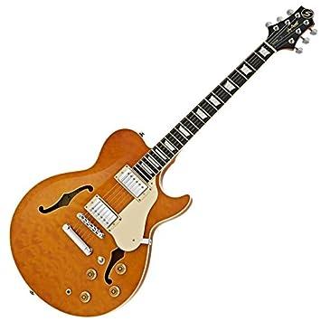 Greg Bennett Royale RL-3 Guitarra Eléctrica Ámbar: Amazon.es: Instrumentos musicales