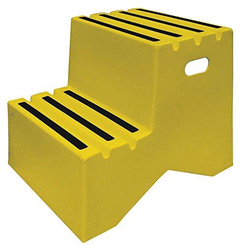 Step Stand, 2 Steps, Polyethylene, ()