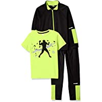 RBX Boys' Tricot Jacket, Tee and Pant Set