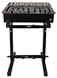 Rockville RXS20 Portable Mixer Stand - Folds Flat, Adjustable Height & Width by Audiosavings