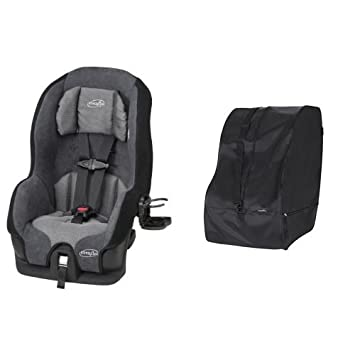 Evenflo Tribute LX Convertible Car Seat Saturn With Travel Storage Bag