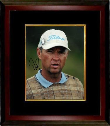 Davis Love III Signed Photograph - Tour 8X10 Custom Framing - Autographed Golf Photos Davis Love Iii Memorabilia