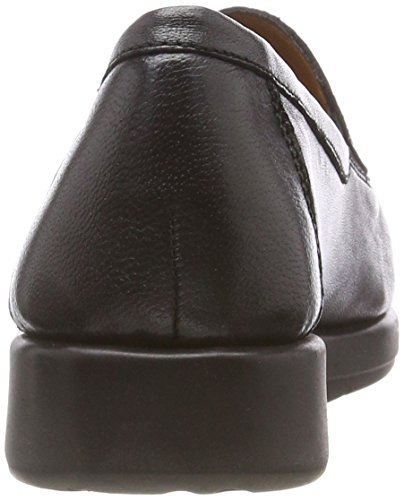 24751 Caprice black Noir 16 Mocassins Femme Perlato SPgPd8xw