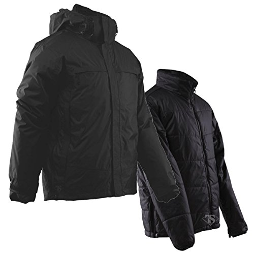 TRU-SPEC 2413004 H2O Proof 3-in-1 Jacket, Medium Regular, Black by Tru-Spec