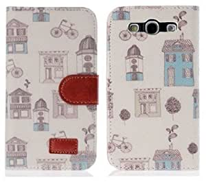 LETOiNG-93PJ81E Wallet Leather Carrying Case Cover With Credit ID Card Slots/ Money Pockets For Samsung Galaxy S3/i9300-Pattern 02